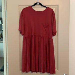 Urban outfitter short sleeve Tee Shirt dress